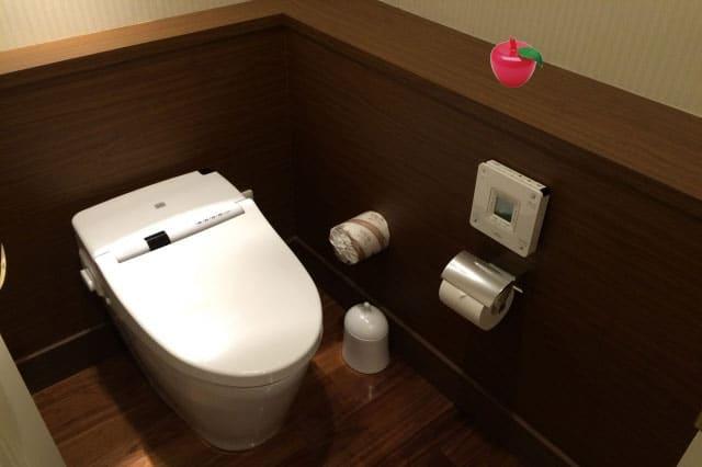 トイレの消臭にトルマリンゴ